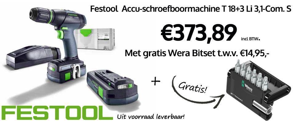 Festool_t18+3_aanbieding