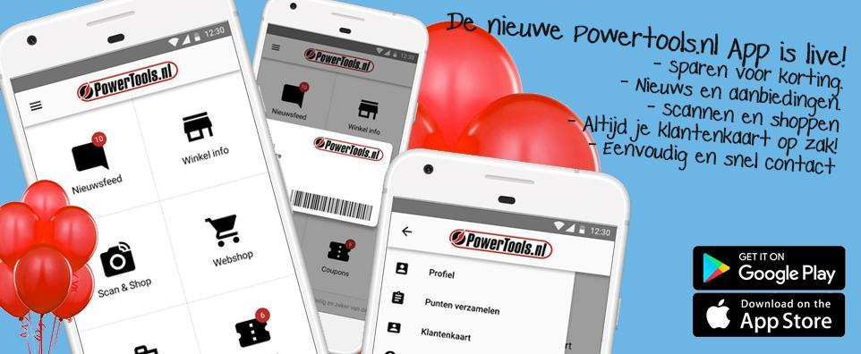 Powertools_gereedschap_app