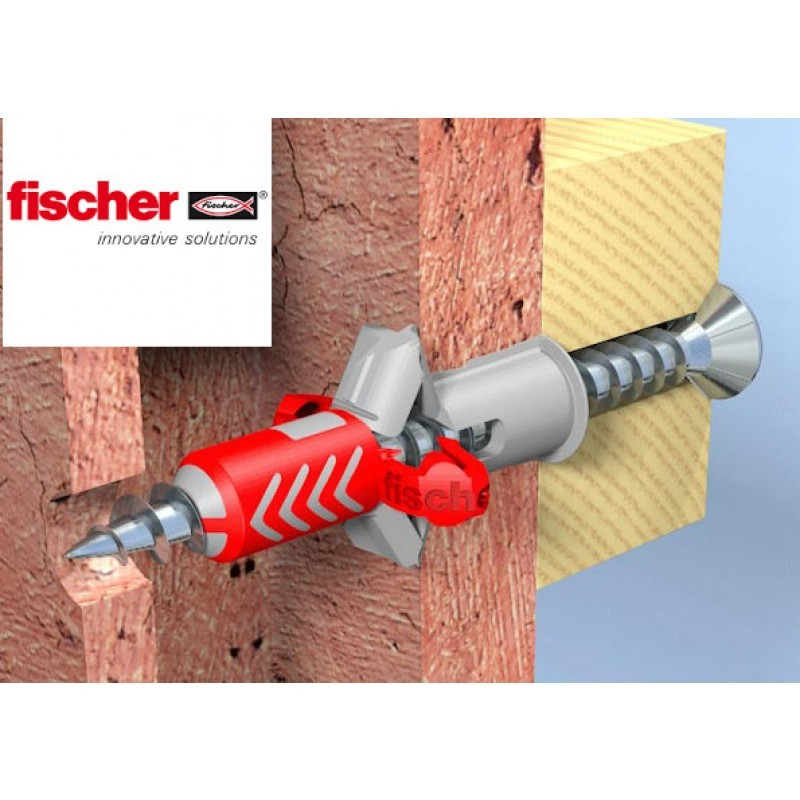 Fischer duopower redbox pluggen - Cheville pour parpaing creux ...