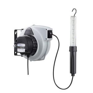 Contimac persluchthaspel met Led  Looplamp  15 m  automaat