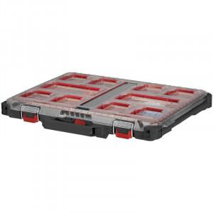 Milwaukee Mini Packout Slim Organizer - 500 x 380 x 65mm dubbel