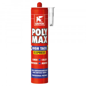 Griffon PolyMax high tack express - wit