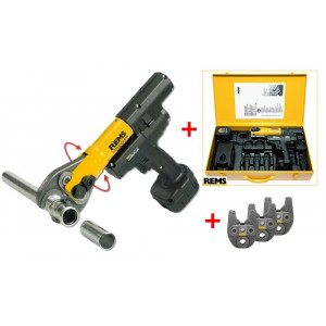 Rems Mini-Press ACC Basic Pack 14.4 Volt Accuradiaalpers  tot 40mm + 3 Bekken