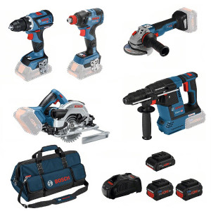 Bosch accu gereedschapset 0615990L50