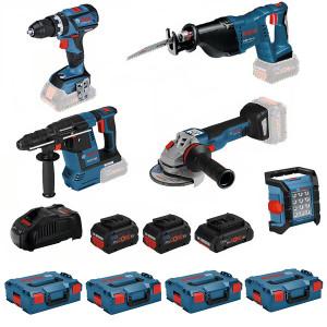 Bosch accu gereedschapset 0615990L52