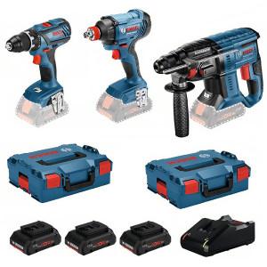 Bosch accu gereedschapset 0615990L57