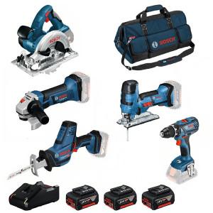 Bosch accu gereedschapset 0615990L59