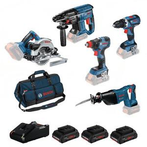 Bosch accu gereedschapset  0615990L5A