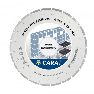 Carat Laser Natuursteen Premium Ø350x30.00mm