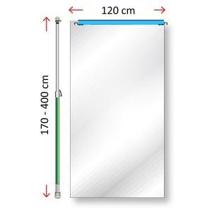Curtain-wall module 120