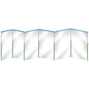 Stofvrij werken met Curtain-Wall Pro Kit 7.2m