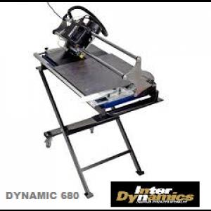 Interdynamics Tegelzaagmachine Dynamic 680