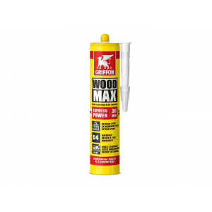 Griffon houtconstructielijm - Wood Max Express Power - 380 gram kitkoker