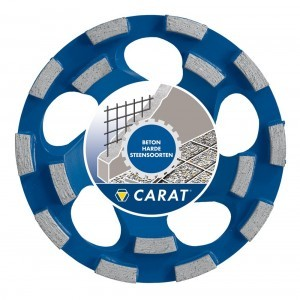 Carat Slijpkop Dustec CUBD1253C0 125x22,23mm