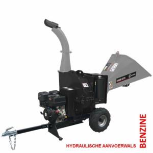Lumag hakselaar HC15H-NL met 12 pk benzinemotor+trekhaak aansluiting + hydraulische invoerwals