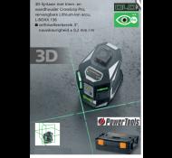 Laserliner 3D Groen X3-Laser Pro met Klem en L-Boxx
