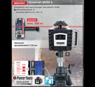 Laserliner rotatielaser Quadrum M350 S +ontvanger SensoMaster M 350