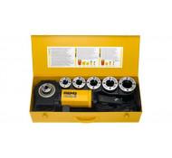 REMS Amigo 2 Set R 1/2 - 3/4 - 1 - 1 1/4 - 1 1/2 - 2 Elektrisch draadsnij-machine 230v