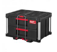 Milwaukee opberg Box Gereedschapskist Transportbox met 2 Lade