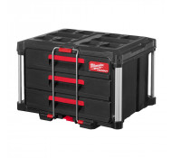 Milwaukee opberg Box Gereedschapskist Transportbox met 3 Lade
