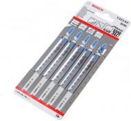 Bosch Decoupeerzaagbladzaagblad T 321AF  Metaal(5 stuks)