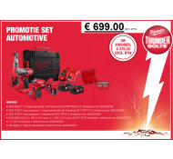 Milwaukee M18 Automotive  slagmoer Promoset