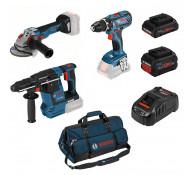 Bosch accu gereedschapset 0615990L51