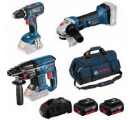 Bosch accu gereedschapset 0615990L58
