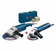 Bosch Blauw GWS22-230JH + GWS7-125 Met gratis 2 diamantschijven.