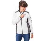 Flex Dames Verwarmde Accu jas fleece  met universeel adapter  512.052 Lady MAAT-XS