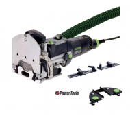 Festool domino DF 500 Q-SET dominofrees + extra lijnaanslag & dwarsaanslag