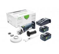 Festool accu haakse slijper AGC 18-125 Li 5,2 EB-Plus - 575344