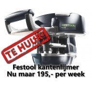 Festool kantenlijmer huren - KA 65 Conturo Plus