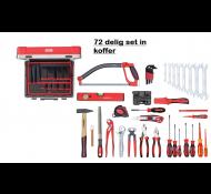 Gedore RED gereedschapsset 72-delig in koffer