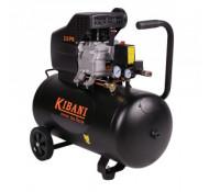 Kibani compressor 100 liter dubbele cilinder, 3 pk / 2.2 kW