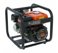 Kibani Waterpomp WP28000 met 4 Takt motor 196cc / 6.5 pk /2'