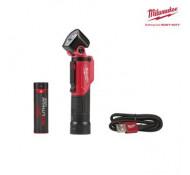 Milwaukee L4 PWL-201 oplaadbaar Werklamp met USB kabel + Magnetisch