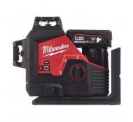 MILWAUKEE M12 3PL-0C DRIEDIMENSIONALE