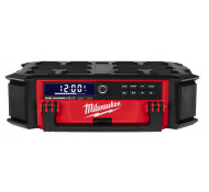 Milwaukee Packout Radio met lader M18 PRC DAB+ Bluetooth