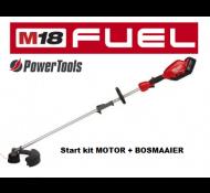 Milwaukee M18 FOPHLT- KIT Accu Tuingereedschap Combi Motor + Bosmaaier