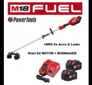 Milwaukee M18 FOPHLT- KIT502 Accu Tuingereedschap Combi Motor + Bosmaaier +NRG accu se