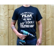 Powertools T-shirt maat XXL