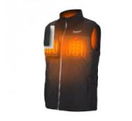 Milwaukee verwarmde Bodywarmer  Puffer vest  M12HBWP-0 maat 2XL