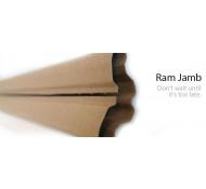 Permaverde Ram Jamb Kozijn beschermer 150 cm hoog flexibel van 10 tot 23 cm breed  Recyclebaar