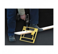 Timber Lok Rechthoek klem hulpstuk voor PVC ,Hout en alle andere metaal soorten