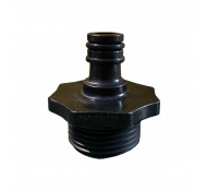 Kibani Snelkoppeling tbv waterpomp en beregenings pomp 1 inch / 25mm