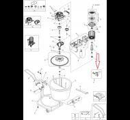 Schakelaar Kantelbeveiliging tbv Carat Mixer 50 Super