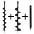 Kibani Grondboren set 100+150+Verlengstuk tbv GTD5212 grondboor 50CM