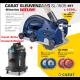 Carat SL-1505 sleuvenzaag Dustec met Carat BBN2 Airbo Stofzuiger