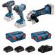 Bosch accu gereedschapset 0615990L56